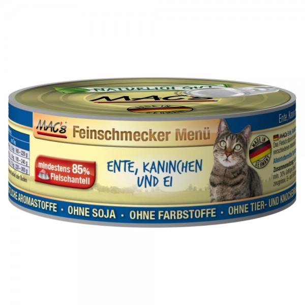 Macs Cat Ente & Kaninchen 100g Dose