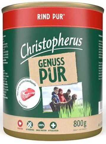 Christopherus Pur Rind 800g-Dose