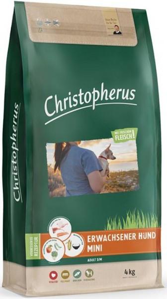 Allco Christopherus Erwachsener kleiner Hund Geflügel,Lamm, Ei & Reis 4kg