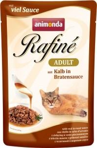 Animonda Cat Portionsbeutel Rafine Soupé Kalb in Bratensauce 100g