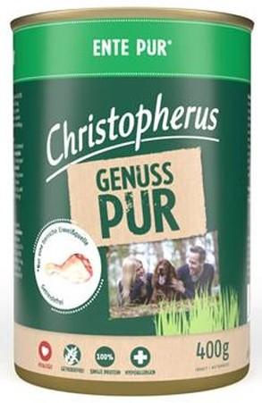 Christopherus Pur Ente 400g-Dose