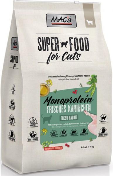Macs Cat Adult Monoprotein Kaninchen 7kg