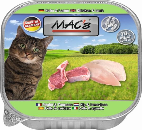 Macs Cat Huhn + Lamm 85gS
