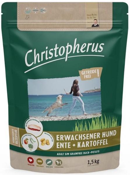 Christopherus Getreidefrei Ente + Kartoffel 1,5kg