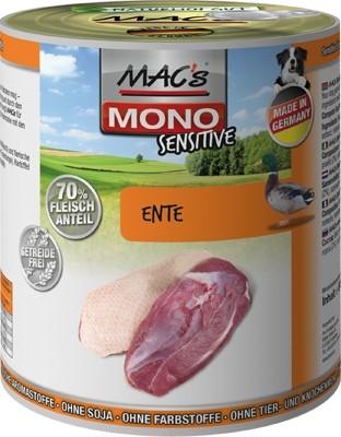 Macs Dog Mono Ente 800g Dose