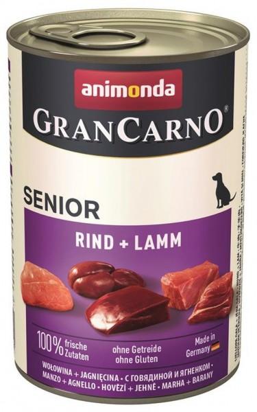 Animonda Dog Dose GranCarno Senior Kalb & Lamm 400g