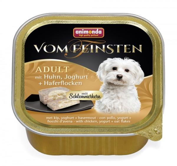 Animonda Dog Vom Feinsten Schlemmerkern mit Huhn, Joghurt & Haferflocken 150g