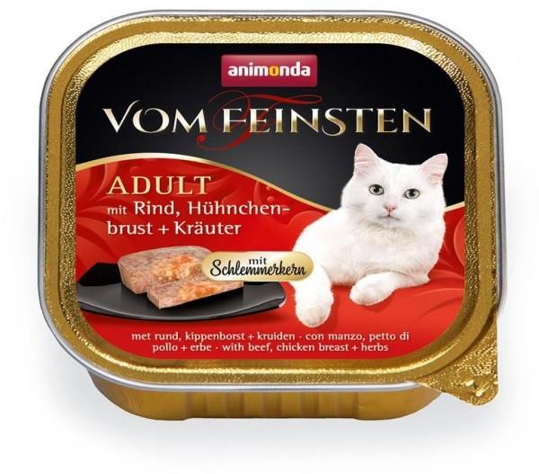 Animonda Cat Vom Feinsten mit Schlemmerkern mit Rind, Hühnchenbrust & Kräutern 1