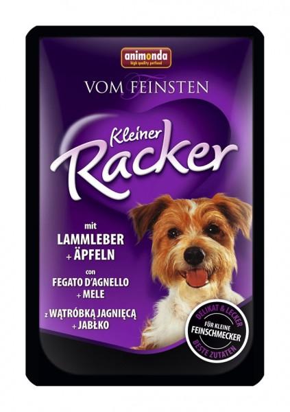 Animonda Dog Kleine Racker Lammleber & Äpfeln 85g Frischebeutel