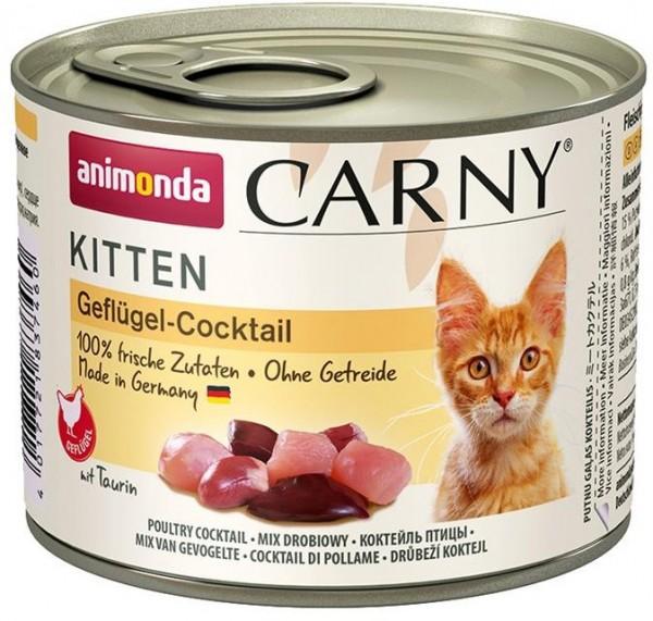 Animonda Cat Dose Carny Kitten Geflügel-Cocktail 200g