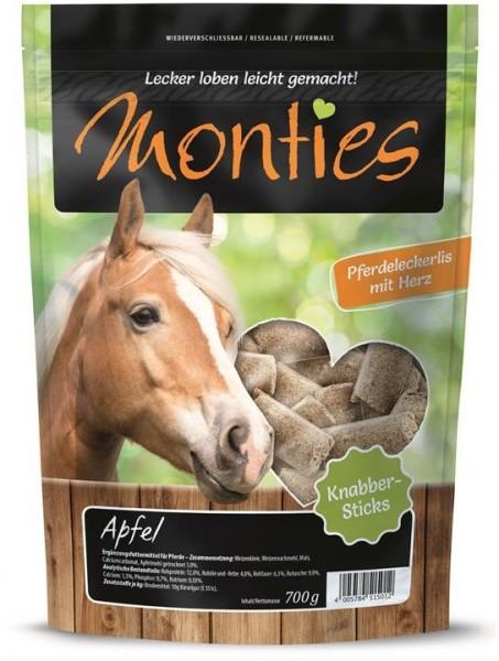 Monties Apfel Sticks 700g