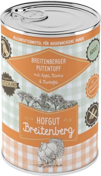 Hofgut Breitenberg Dog Breitenberger Putentopf mit Apfel,