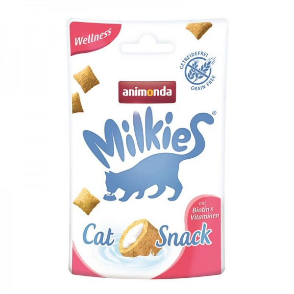 Animonda Snack Milkie Wellness mit Biotin & Vitaminen 30g