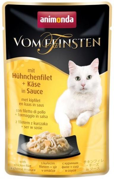 Animonda Cat Portionsbeutel vom Feinsten mit Hühnchenfilet & Käse 50g