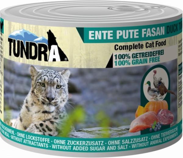Tundra Cat Ente, Pute & Fasan 200g Dose