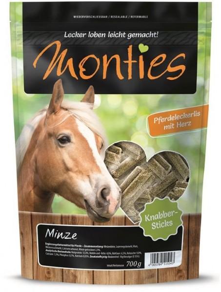 Monties Minze Sticks 700g