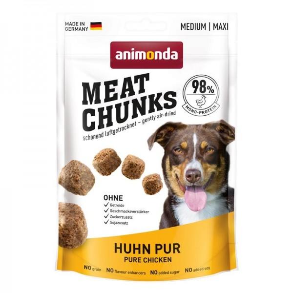 Animonda Dog Snack Meat Chunks Huhn pur 80g