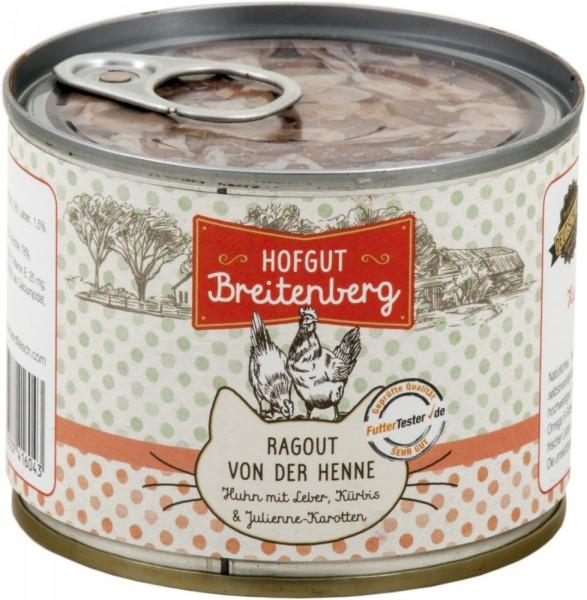 Hofgut Breitenberg Cat Ragout von der Henne Huhn 180g