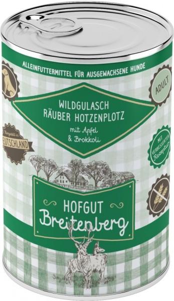 Hofgut Breitenberg Dog Wildgulasch Räuber Hotzenplotz mit
