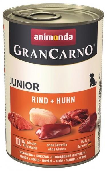 Animonda Dog Dose GranCarno Junior Huhn & Kaninchen 400g