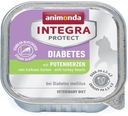 Animonda Cat Schale Integra Protect Diabetes mit Putenherzen 100g
