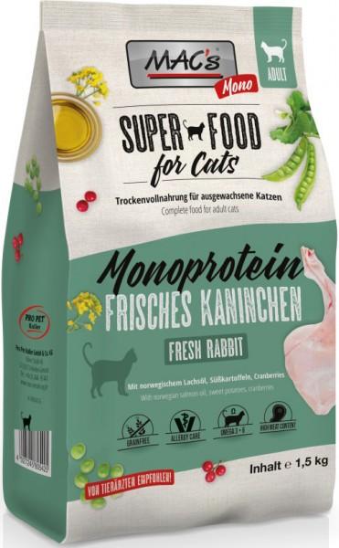 Macs Cat Adult Monoprotein Kaninchen 1,5kg
