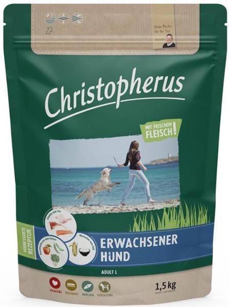 Allco Christopherus Erwachsener Hund Geflügel,Lamm, Ei & Reis 1,5kg