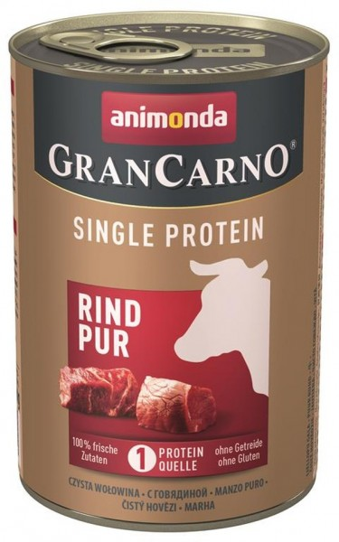 Animonda Dog Dose GranCarno Adult Rind pur 400g