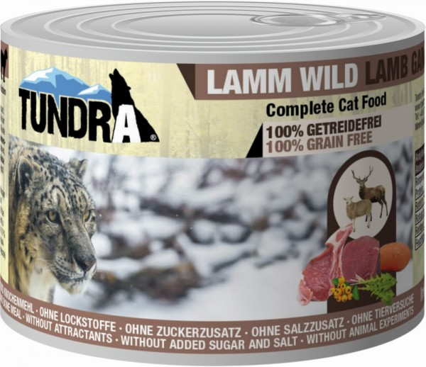 Tundra Cat Lamm & Wild 200g Dose