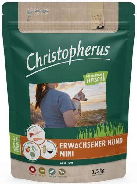 Allco Christopherus Erwachsener kleiner Hund Geflügel,Lamm, Ei & Reis 1,5kg