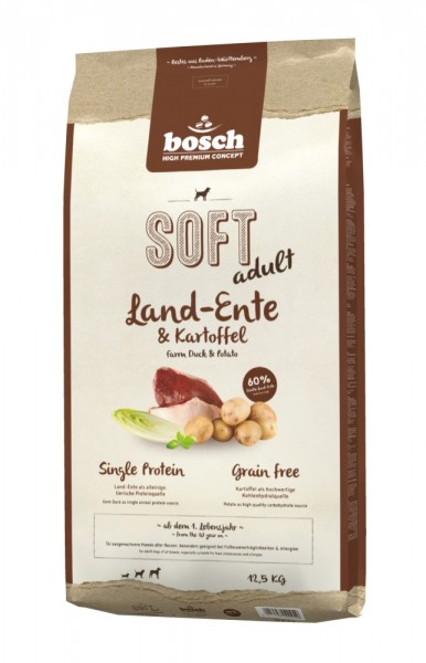 Bosch SOFT Land-Ente & Kartoffel 12,5 kg