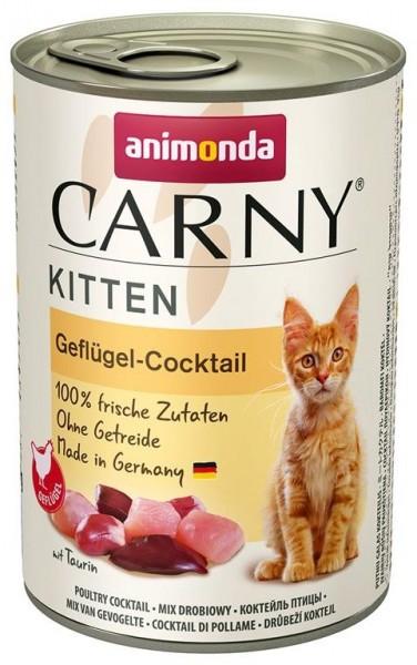 Animonda Cat Dose Carny Kitten Geflügel-Cocktail 400g