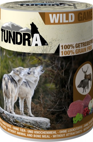 Tundra Dog Wild 400g Dose
