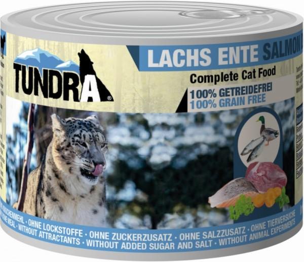 Tundra Cat Lachs & Ente 200g Dose