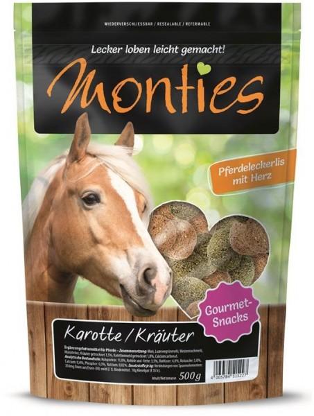 Monties Karotte & Kräuter Snacks 500g