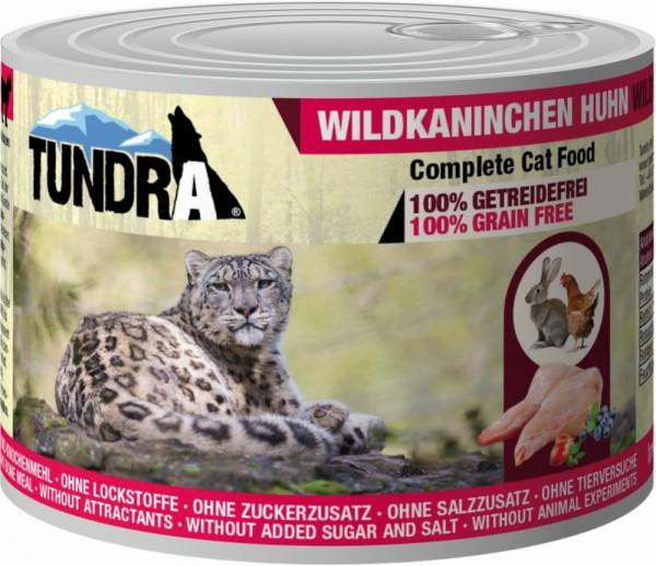 Tundra Cat Wildkaninchen & Huhn 200g Dose