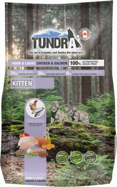 Tundra Cat Turkey+Game 272g Trockenfutter