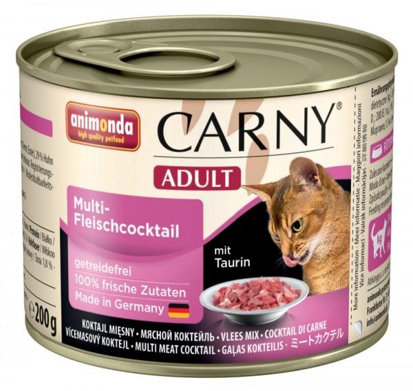 Animonda Cat Dose Carny Adult Multifleisch - Cocktail 200g