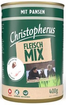 Christopherus Fleischmix - mit Pansen 400g-Dose