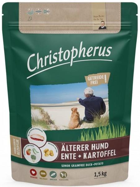 Christopherus Getreidefrei Senior Ente + Kartoffel 1,5kg