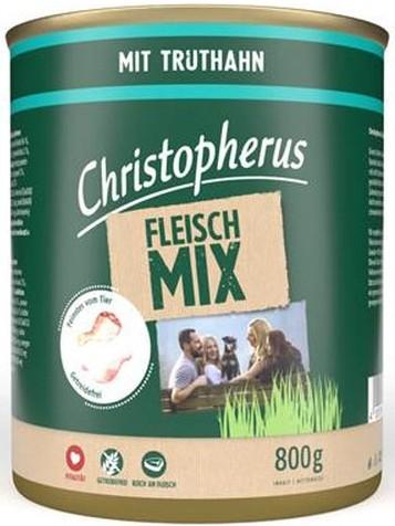 Christopherus Fleischmix - mit Truthahn 800g-Dose