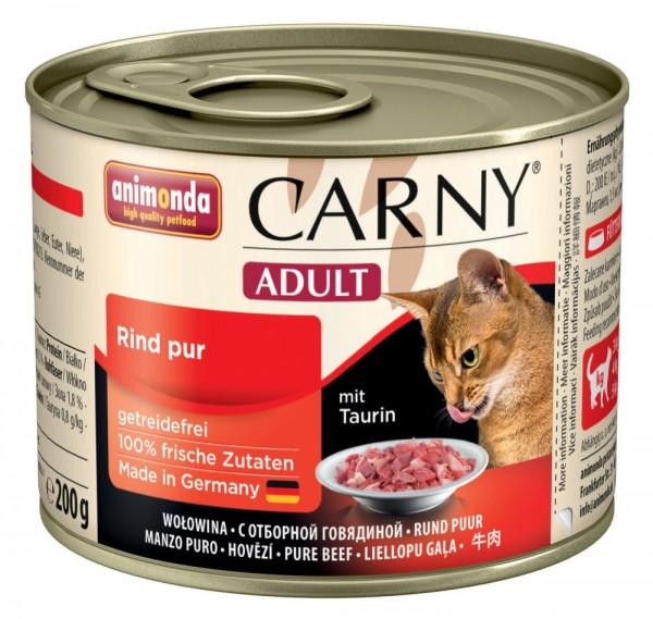 Animonda Cat Dose Carny Adult Rind pur 200g