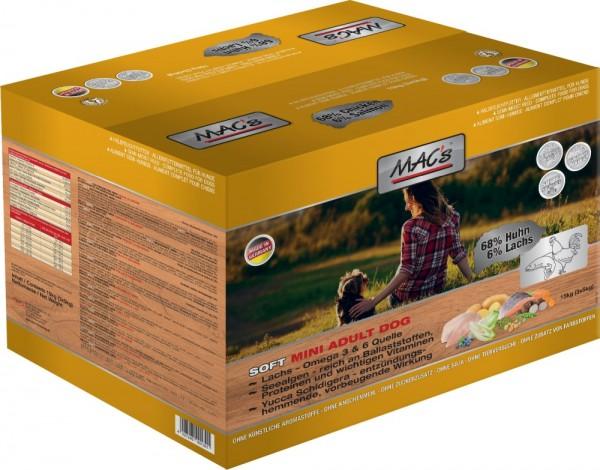 MACs DOG Soft Mini Huhn 3x5kg