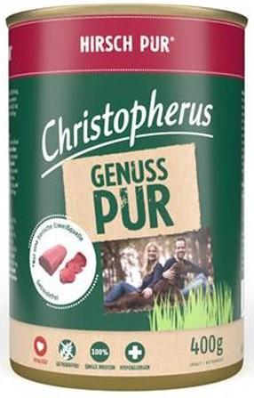 Christopherus Pur Hirsch 400g-Dose