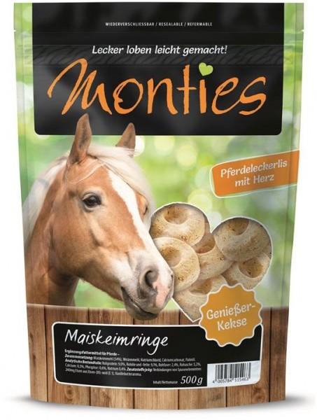Allco Monties Pferde Snack Maiskeimringe - gebacken 500g