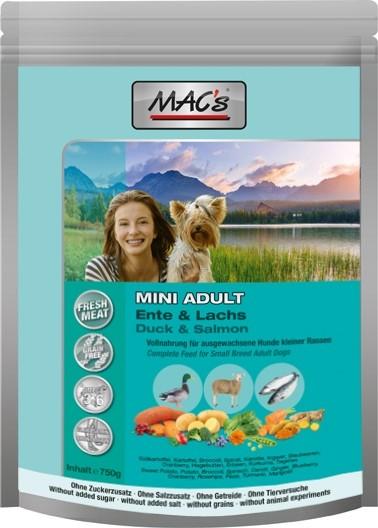 MACs Adult Mini Ente, Lamm, Lachs 750 g