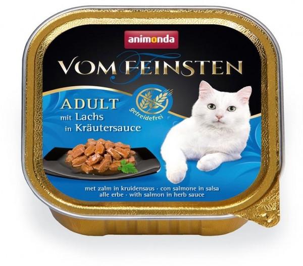 Animonda Cat Vom Feinsten mit Lachs in Kräutersauce 100g