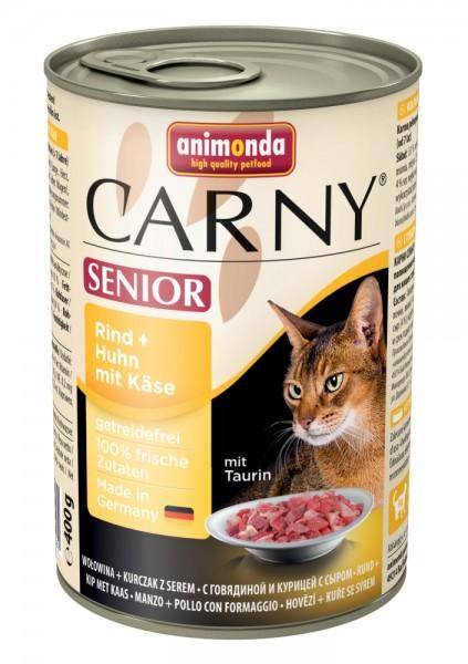 Animonda Cat Dose Carny Senior Rind & Huhn & Käse 400g