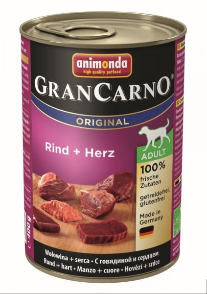 Animonda Dog Dose GranCarno Adult Rind & Herz 400g