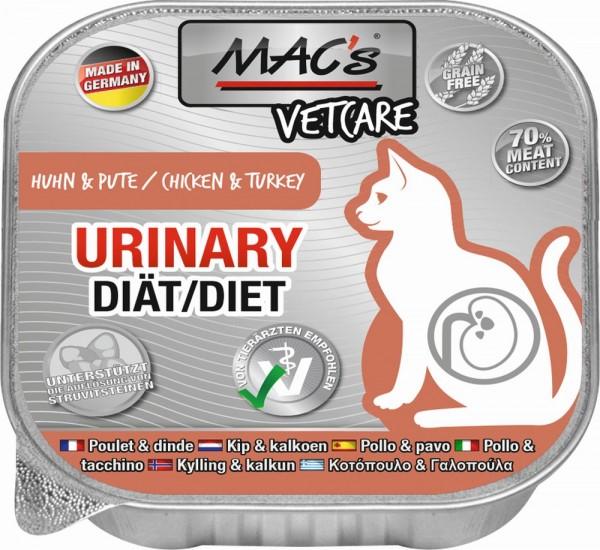MACs Cat Vetcare Urinary Huhn & Pute 100gS